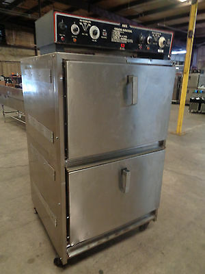 """Amfe """"the Miracle Oven""""  Electric Smoker On Casters."""