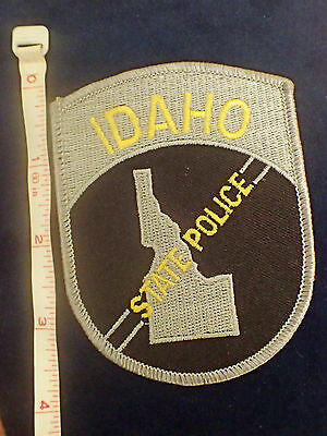 Idaho State Police Patch New - Free 1st Class Package Shipping