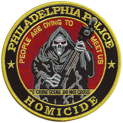 """Philadelphia Police Homicide """" People are dying to meet us"""" Pennsylvania Patch"""