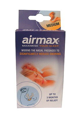 Airmax Reduces Snoring and Congestion Widens Nasal Passages One Size
