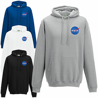 NASA Space Astronaut Hoodie - Cool Geek Nerd Star Logo Unisex Hoody Gift Top