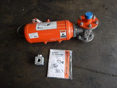"""NEW Martin Big Blaster Air Cannon BB2-8-20 XHV AMB 2"""" x 1"""" .15s Discharge NEW"""