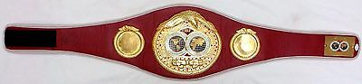 Mike Tyson Signed Autographed IBF Championship Belt JSA Authentic