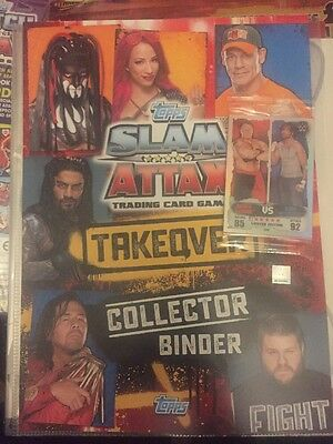Slam Attax Takeover  Binder With Limited Edition Card Plus £5 Gift Card