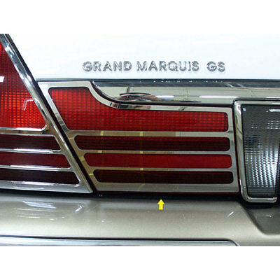 03-10 Grand Marquis Luxury FX Chrome Stainless Steel Taillight Bezel Set