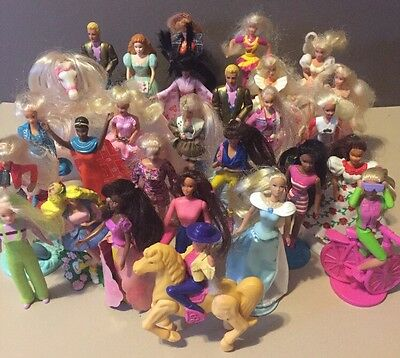 Huge Lot of 1990's Barbie Happy Meal Toys