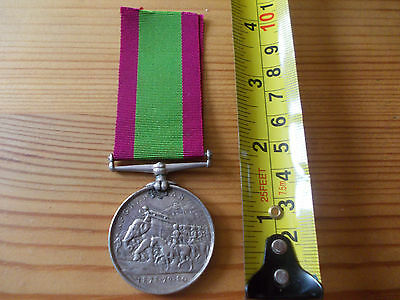 Original Victorian Afghanistan Medal 1878-79-80 to 12th Bengal Cavalry