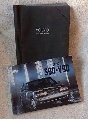 S90 V90 Volvo Plus Owners Manual & Wallet From 1997
