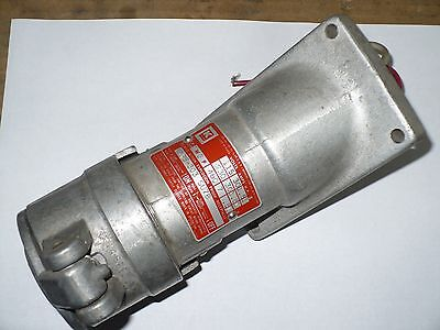 1 pc Killark KRS-303-SU78 Delayed Action Explosion Proof Receptacle, 460V, Used
