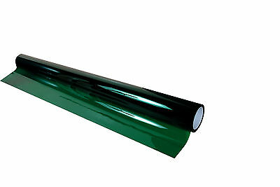 "35% VLT Green Car Window Tint Film Pro Dyed 18"" x 20' Roll UV Protection"