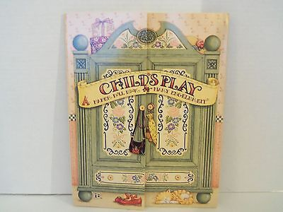 NEW Child's Play Paper Doll Book by Mary Engelbreit Vintage 1997 - HTF