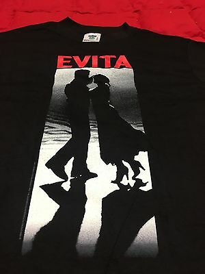 "MADONNA - OFFICIAL 1996 ""Evita"" Promo Tee Shirt **NEW & UNWORN** Size M"