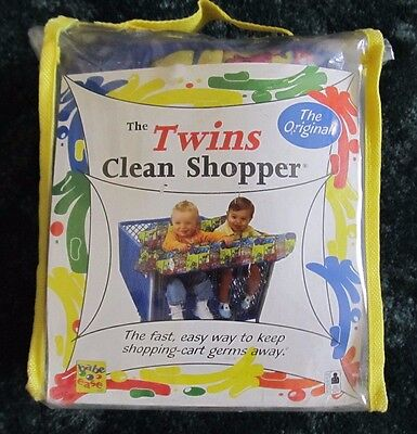 Babe Ease The Twins Clean Shopper The Original 100% Cotton New