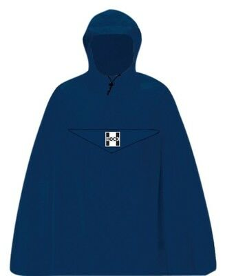 Hock Regenponcho Rain Light blau  Gr.XL