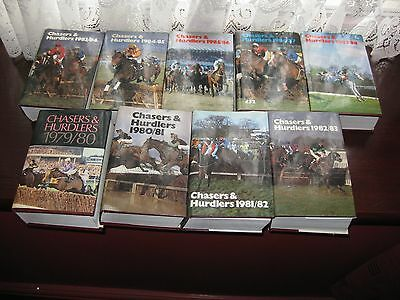 Horse Racing Books ,Chasers and Hurdlers 1979 to 1988