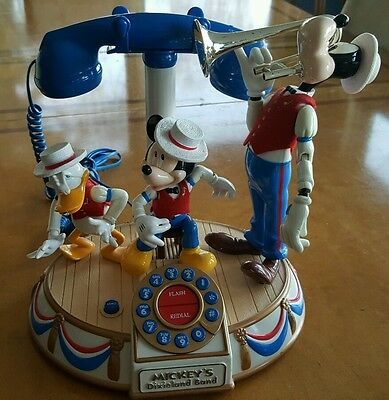 Mickey Mouse Dixieland Band Phone