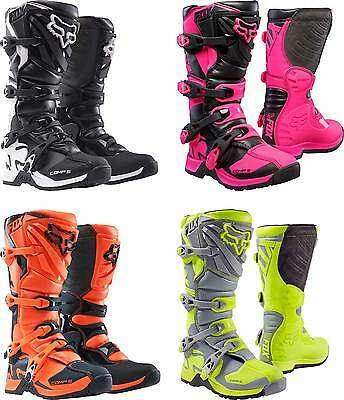 2017 Fox Racing Youth Comp 5 Boots - MX ATV Motocross Off-Road Dirt Bike Gear