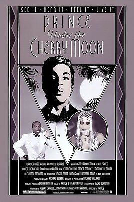 Prince Under the Cherry Moon POSTER 1986 Rare Large