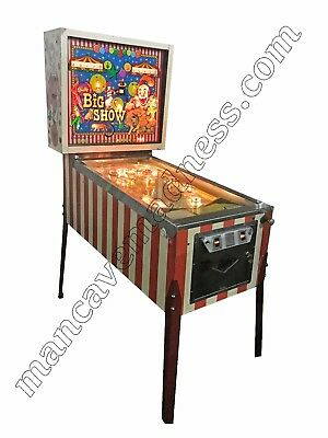 Big Show  Pinball Machine -  By Bally 1973
