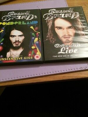 Russell Brand Ponderland And Doing Life Live Dvd Combo