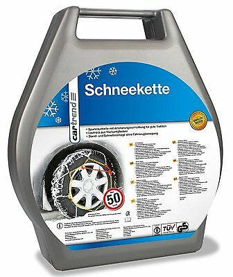Cartrend 7848240 Snow Chains 2-Part Set 'Safety', Size 40 with TÜV/GS - RRP-£65!