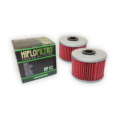 HI-FLO 2 PACK OF OIL FILTERS FOR HONDA CBR250 R 2011 to 2013
