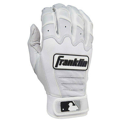 Franklin CFX Pro Adult Baseball/Softball Batting Gloves - Pearl/White - Large