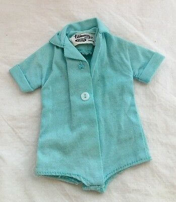 Vintage Japan Ideal TAMMY Doll Blue Top Body Suit TEE TIME