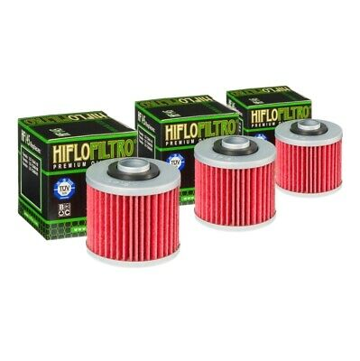 HI-FLO OIL FILTER 3 PACK FOR YAMAHA YFM700 Raptor Special Edition 2009 to 2018