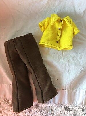 Vintage Ideal VELVET Doll Outfit Tagged SMARTY PANTS