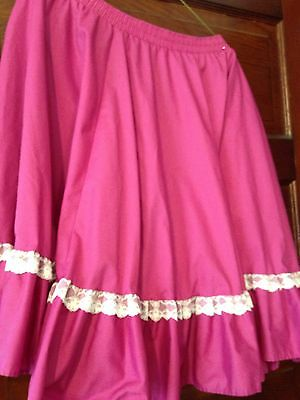 Ladies Square dance Skirt In Large By Malco Modes