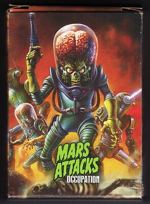 2015 TOPPS KS MARS ATTACKS OCCUPATION + DINOSAURS ATTACK 117 Card Master Set