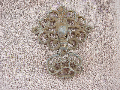 Antique Ornate Brass Furniture Dresser Drawer Knob Pull Canada SP-231