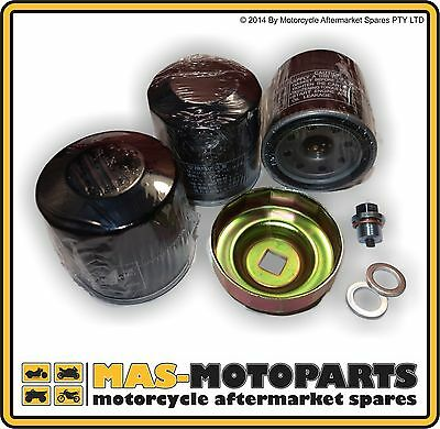 OIL FILTER THREE PACK FOR YAMAHA FZX250 ZEAL 1998 to 2002 YZF600R 1994 to 1996
