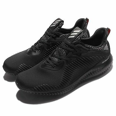 adidas Alphabounce M Triple Black Men Running Shoes Sneakers Trainers B42746