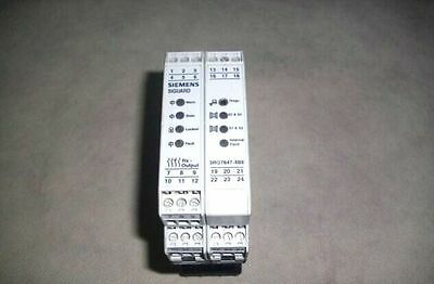 Used Siemens Safety Relay  3RG7847-4BE  Tested
