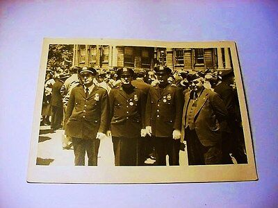 Vintage New York City Police Photo 5 X 7 Inches