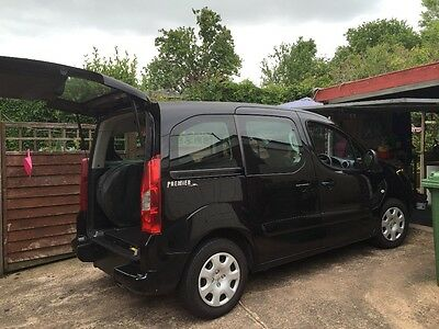 2011 Peugeot Partner Tepee S 1.6Hdi Wheelchair Mobility Scooter Accessible