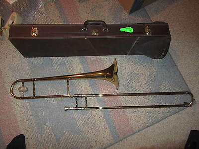 Vintage Trombone--Besson 600--London made in England by Boosey & Hawks