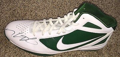 Kevin Durant Signed Nike Flywire Shoe Size 18 with proof