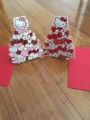 Valentines Day Cards 3D Hello Kitty Happy Birthday Cards Gift Card Love Card