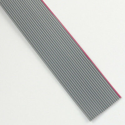 2M / 6.5FT 0.635mm Pitch 20 Pin Wire Flat Ribbon Cable For 1.27mm FC Connector