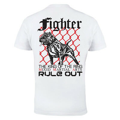 T-Shirt Mma Figter The King Of The Ring Ideal For Mma Treining Gym Casual Wears