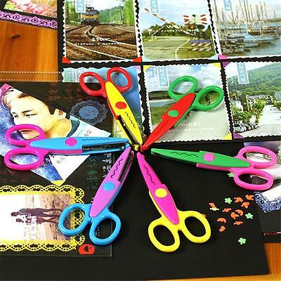 NEW Decorative Craft Border Sewing Scissors Scallop Wavy Pinking Paper Shears C&