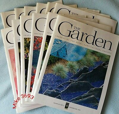 RHS The Garden Magazine 2004 January - December 12 issues