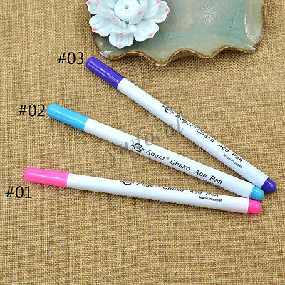 1 Pc Water Erasable Fabric Marking Pen DIY Craft Sewing Drawing Tailor Tool