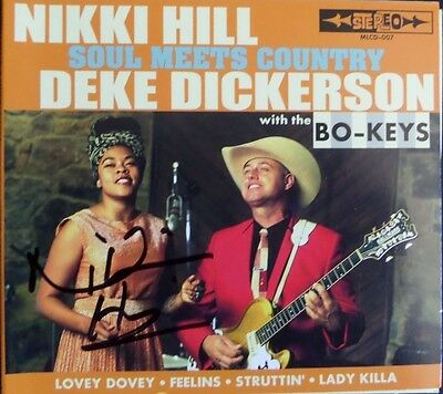 """The """"Soul Meets Country"""" CD signed by Nikki Hill"""