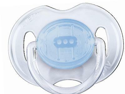 Philips AVENT Soother Translucent 0-6m Pack Of 2
