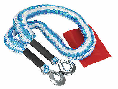 Sealey TH2502 Tow Rope 2000kg Rolling Load Capacity