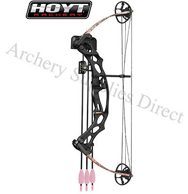 Hoyt Ruckuss Junior Right Handed Pink Compound Archery Bow New !